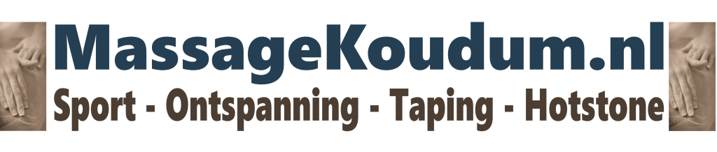 Massagekoudum.nl sportmassage | ontspanningsmassage | taping | hotstonemassage